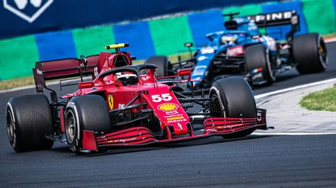 No, aunque quizás sí... Por qué Carlos Sainz y Ferrari pueden aspirar a otro podio en Spa