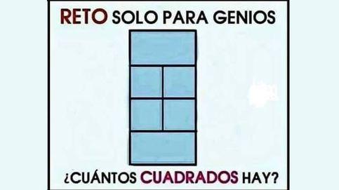 El juego de los cuadrados sólo para genios que engancha en Facebook