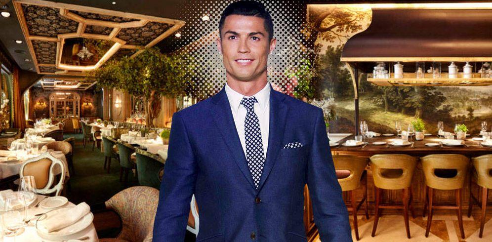 Foto: Cristiano Ronaldo en un fotomontaje de Vanitatis.