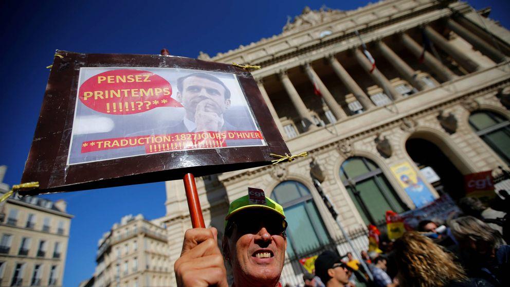 Huelga en Francia: primer pulso sindical contra la gran reforma de Macron