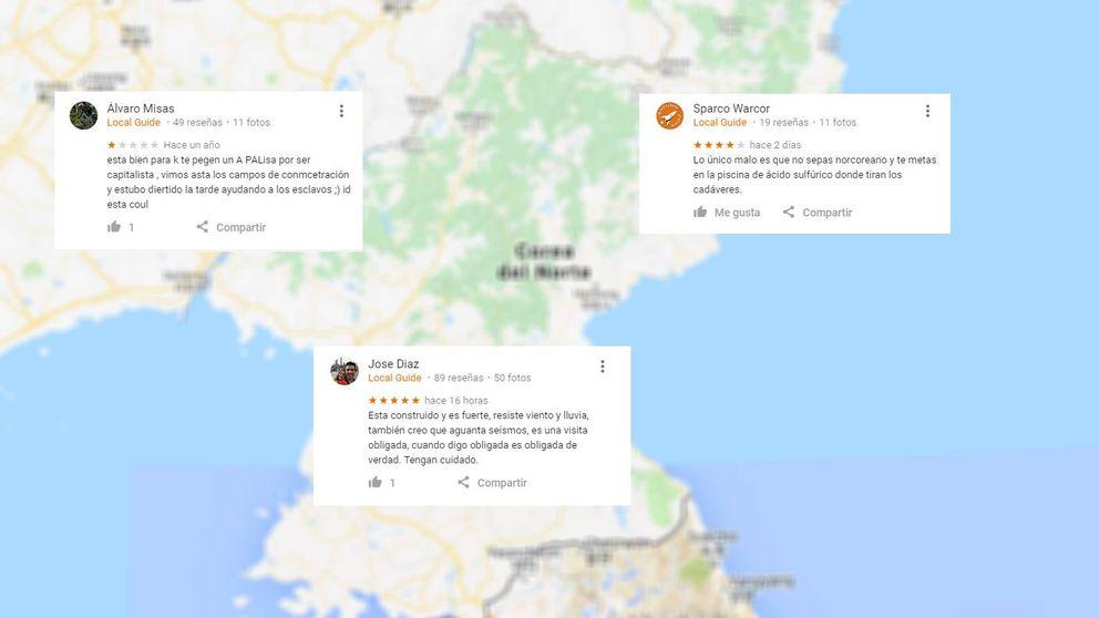 Reseñas falsas y 'troleo': esto es lo que pasa si buscas Corea del Norte en Google Maps