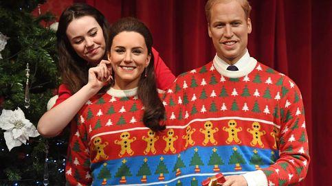 El Madame Tussauds 'saca' el lado más navideño de la Familia Real británica