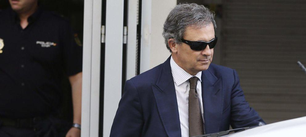 Foto: Jordi Pujol Ferrusola a la salida de la Audiencia Nacional en una imagen reciente (EFE)