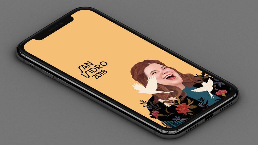 Los carteles de San Isidro, ahora en versión fondo de pantalla para el móvil
