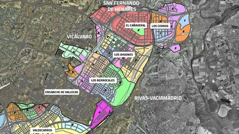 Ofensiva de Carmena para transformar  todo el desarrollo del sureste de Madrid