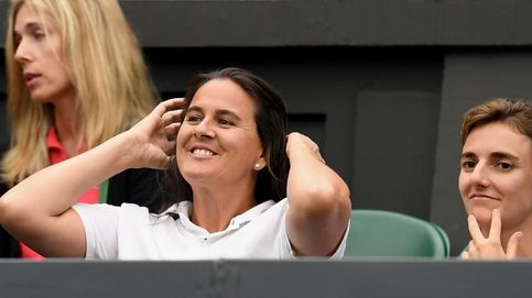 Conchita Martínez meció mejor que nadie la cuna de la inquieta Garbiñe