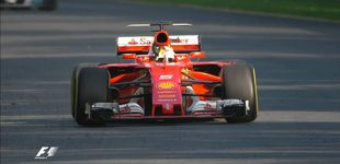 Post de 'Ciao' Mercedes: Vettel destrona a Hamilton y Alonso abandona