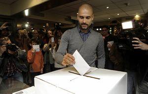 Pep, el catalán más independiente, exhibe su independentismo catalán