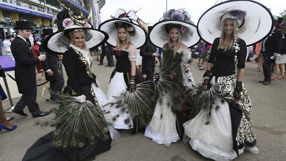 Ascot: desfile de sombreros chic y alguna que otra excentricidad