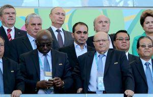 Diez jefes de Estado y de Gobierno acuden a vivir la final del Mundial