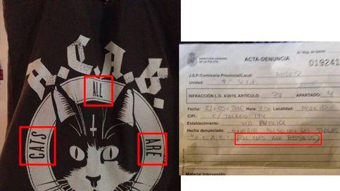 Una joven de Madrid, víctima de la Ley Mordaza por un bolso de gatos