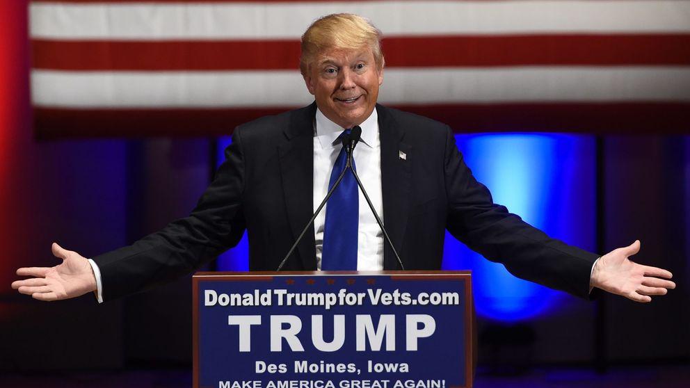 Pintan una esvástica sobre la estrella de Donald Trump en el Paseo de la Fama