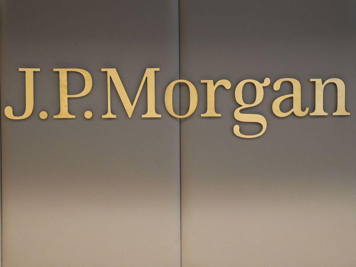 Foto: Logo de JP Morgan. (EFE)