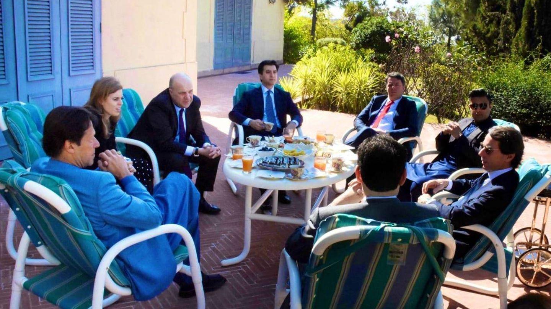 La princesa Beatriz de York, en casa de Imran Khan junto a Aznar, entre otros.  (Redes Sociales)