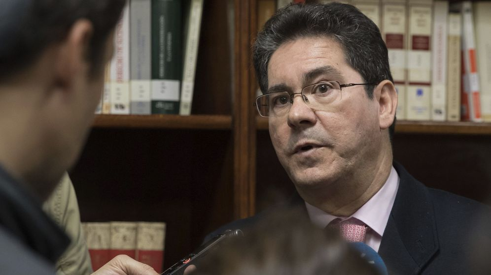 Foto: El juez Pedro Izquierdo, que fue secretario general para la Justicia de Andalucía entre los años 2008 y 2014. (EFE)