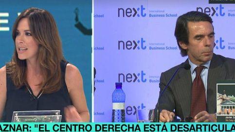 Mamen Mendizábal responde a Aznar en directo: No asociemos corrupción y cáncer
