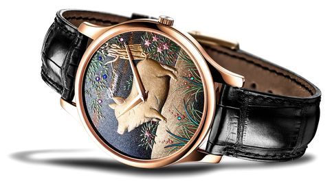 Chopard añade una pieza excepcional a su colección de relojes L.U.C Urushi