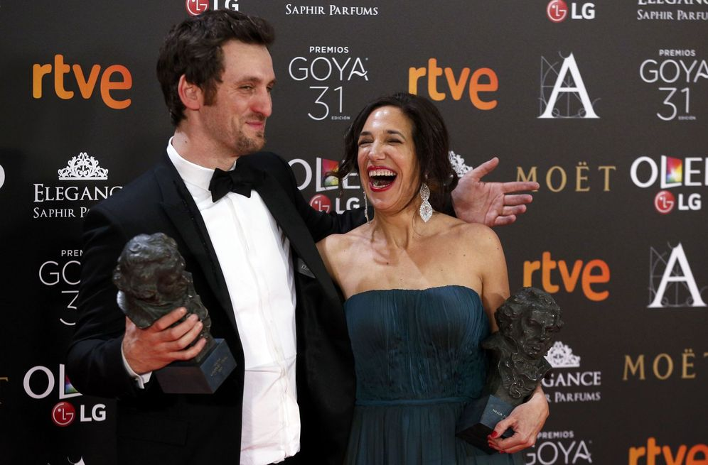 Foto: Arévalo y Bodegas con sus Goyas (Reuters)