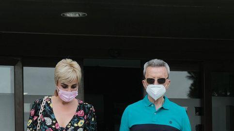 Ortega Cano abandona el hospital Montepríncipe ante la expectación de la prensa