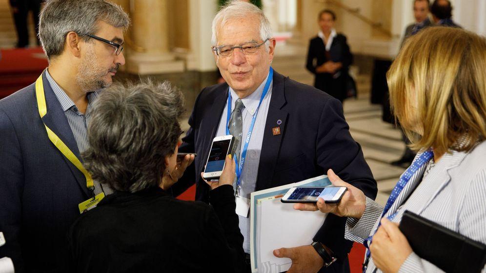 Foto: El ministro de Exteriores español, Josep Borrell. (EFE)