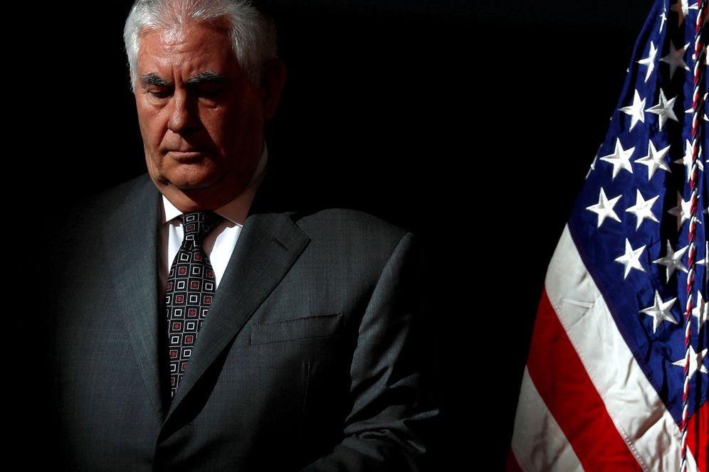 Foto: El ex secretario de Estado, Rex Tillerson, cesado por Donald Trump este martes, 13 de marzo de 2018. (Reuters)