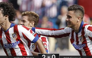 El Atleti se repone ante el Espanyol con poderío aéreo... y balón parado