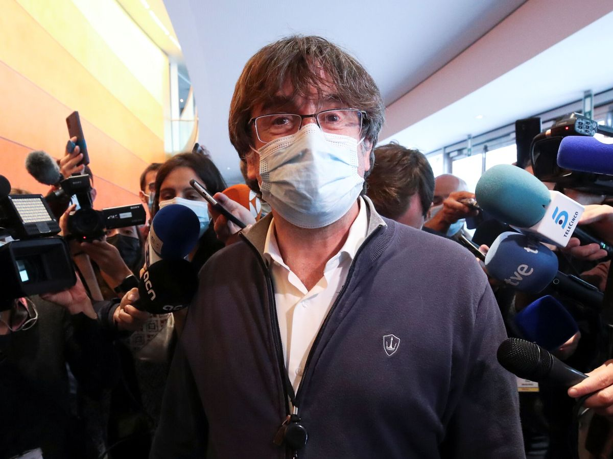 Foto: El 'expresident' catalán Carles Puigdemont. (Reuters)