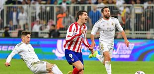 Post de La broma de Thibaut Courtois a Fede Valverde por su patada a Álvaro Morata