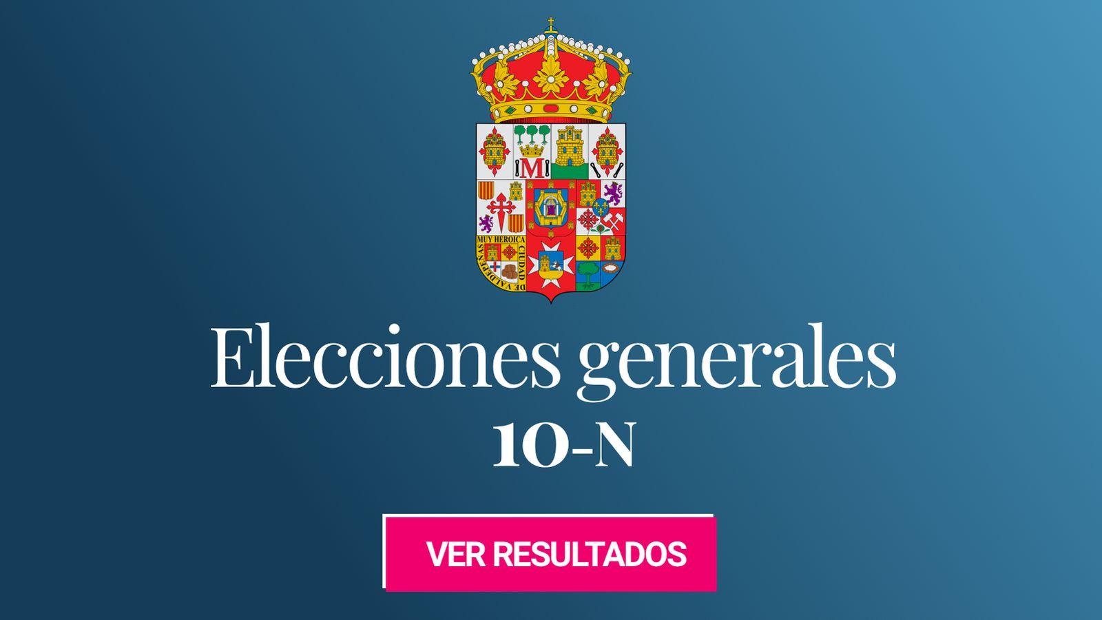 Foto: Elecciones generales 2019 en la provincia de Ciudad Real. (C.C./HansenBCN)