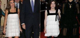 Post de El vestido de Letizia ya lo llevó Ivana Baquero (Laberinto del Fauno) con 12 años