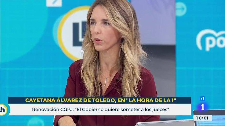 Cayetana Álvarez de Toledo critica el sectarismo de TVE y censura el fichaje de Jesús Cintora