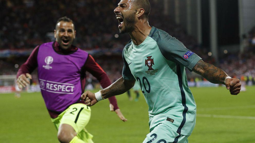 Quaresma mete en cuartos a Portugal con un gol final en un partido infumable