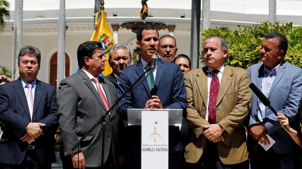 Foto: Juan Guaidó en Venezuela. (EFE)