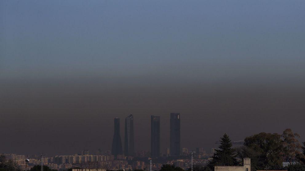 El carbón en Madrid: la calefacción produce casi el 20% de la contaminación