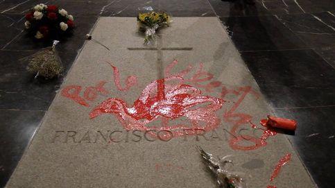 Así se produjo la pintada de la tumba de Franco