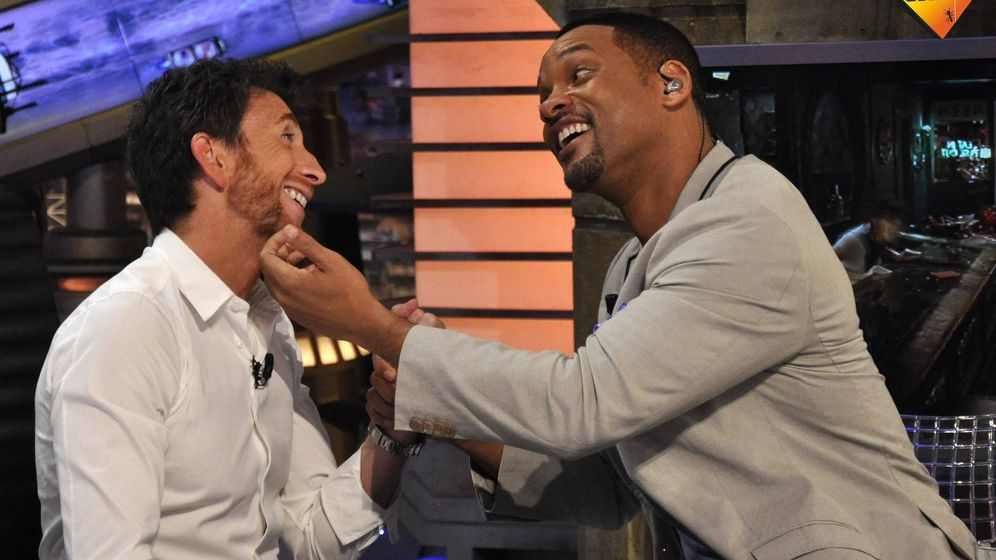 Foto: Pablo Motos y el actor Will Smith en 'El hormiguero'. (7yAcción)