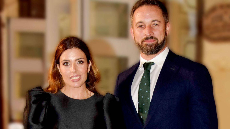 Lidia Bedman y Santiago Abascal en los Premios Princesa de Asturias. (Cordon Press)