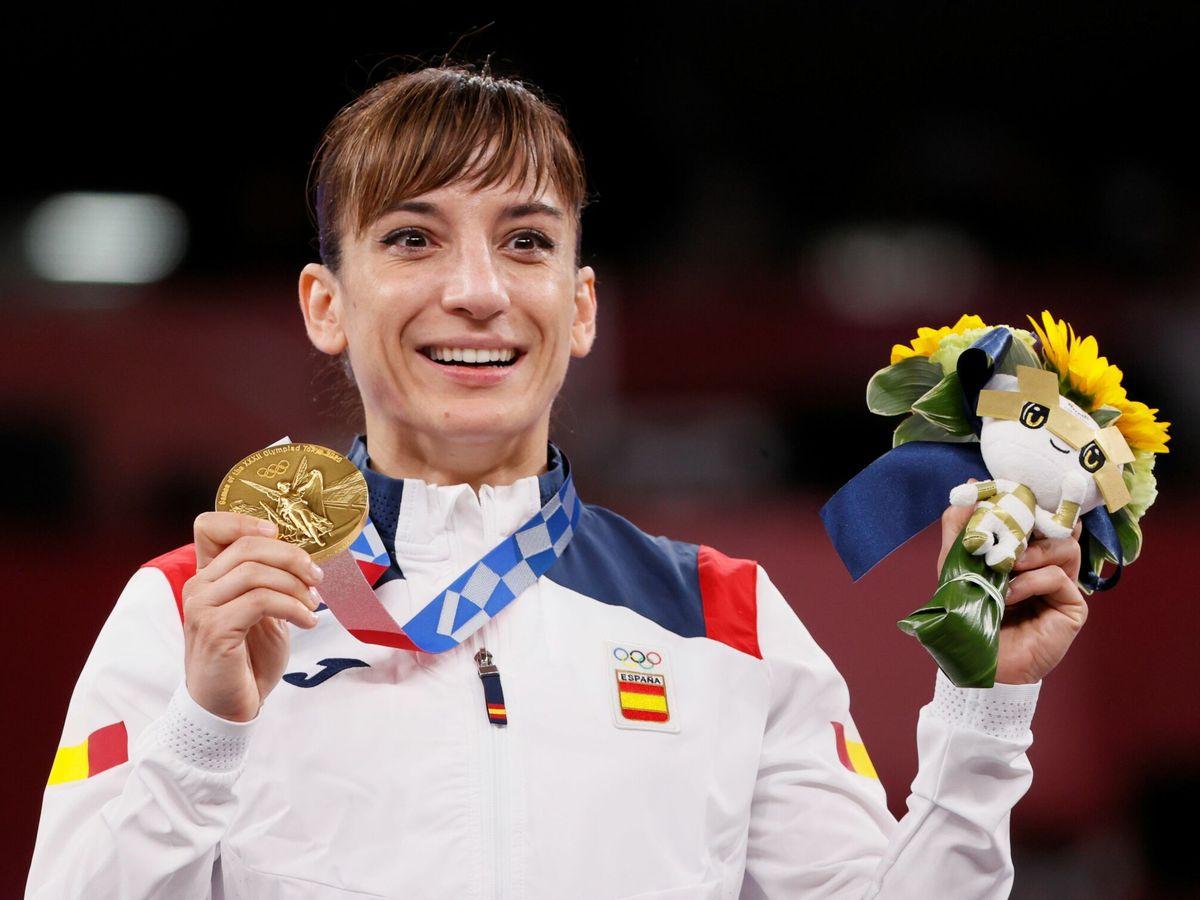 Foto: Sandra Sánchez es la primera campeona olímpica de kata de la historia. (EFE)