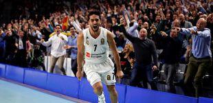 Post de El 'show' de canastas imposibles del Real Madrid en su repaso al Barcelona