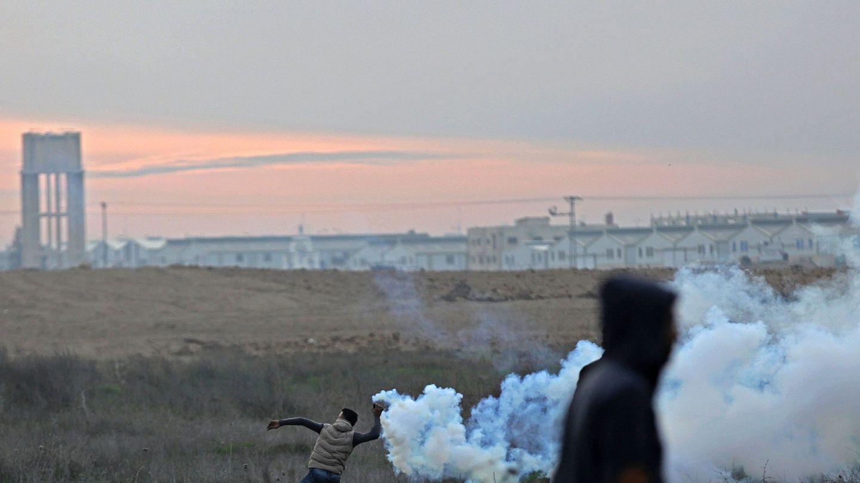 Protestas en Gaza. (Reuters)