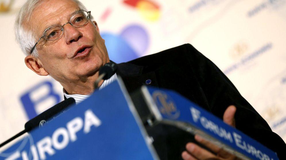 Foto: El expresidente del Parlamento Europeo y exministro de Obras Públicas Josep Borrell. (EFE)