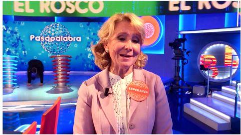 Esperanza Aguirre ('Pasapalabra'): En algunas pruebas no he dado ni una