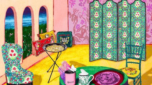 Primera colección Gucci Décor inspirada por Alessandro Michele