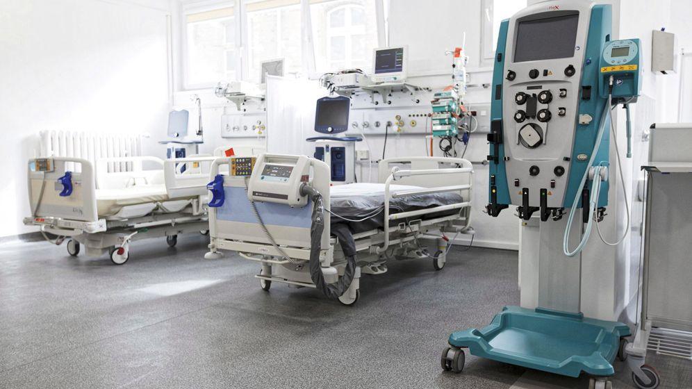 Foto: Foto de archivo de una unidad de atención a pacientes con covid-19. (Reuters)