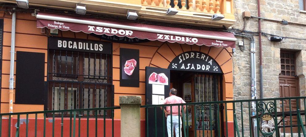 Foto: Sidrería asador Zaldiko, con sabor a San Fermín en pleno casco viejo de Pamplona