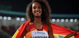 Post de María Vicente, récord del mundo de pentatlón en categoría juvenil