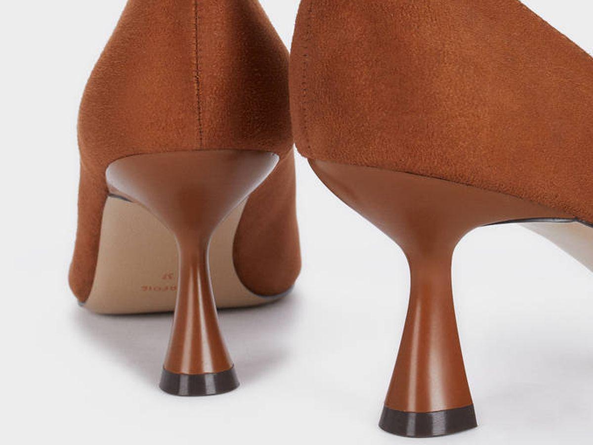 Foto: El tacón es una de las cosas que más nos apasiona de estos zapatos rebajados de Parfois. (Cortesía)