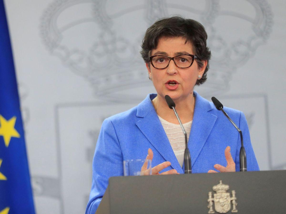 Foto: La ministra española de Asuntos Exteriors, Arancha González Laya. (EFE)