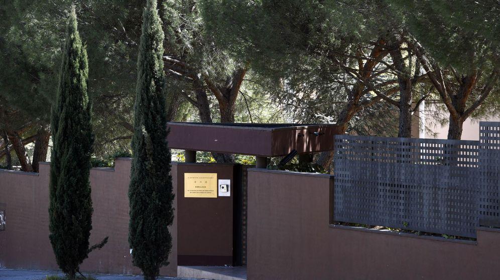 Foto: Embajada de Corea del Norte en Madrid. (EFE)