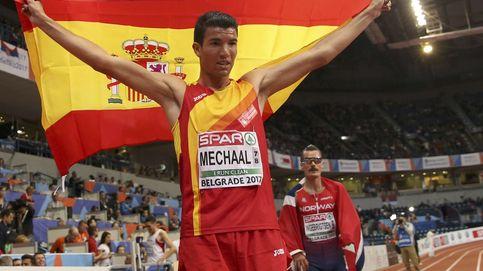 El catalanista Mechaal agradece ahora a España un oro europeo bajo sospecha